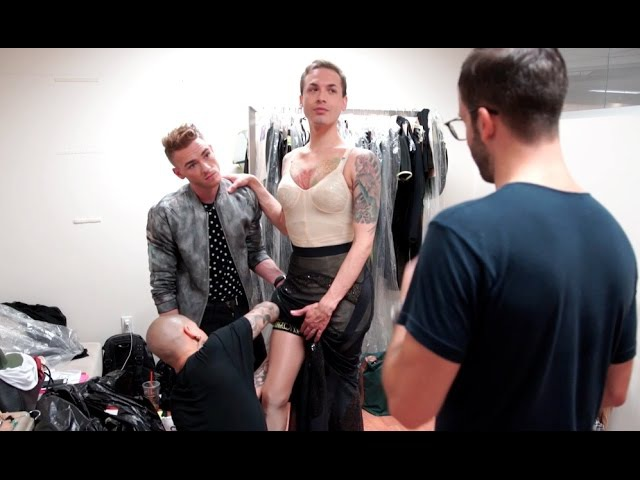MarcoMarcoShow - Model Fittings in NY w/ Milk, Miss Fame, Dean Modah, Bradley Gisele Xtravaganza