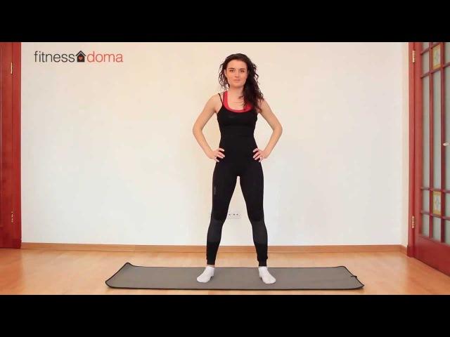 упражнения для похудения ног и ляшек видео