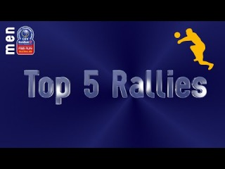 Stars in Motion: Top 5 Most Amazing Rallies - Volleyball Champions League Men - Playoffs 6 Leg 2