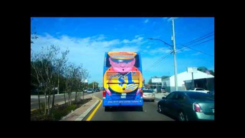 Дешевый транспорт по Америке Megabus.com GotoBus.com 03.02.2015