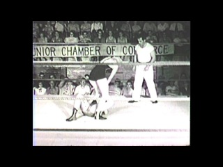 June Byers vs Cora Combs 1950's Wrestling From Hollywood ladies women female women's