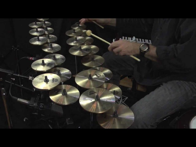 World Percussionist Tom Teasley REFLECTIONS FOR SABIAN CROTALES WAVE DRUM MELODICA AND LOOPER