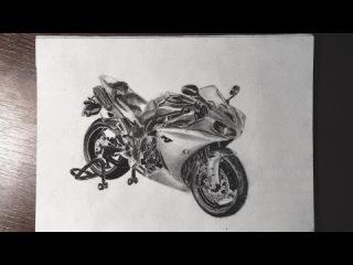 Yamaha R1 - Charcoal & Graphite