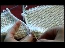4. Трикотажные швы. Вертикальный трикотажный шов по изнаночной глади. Knitting seams knitting