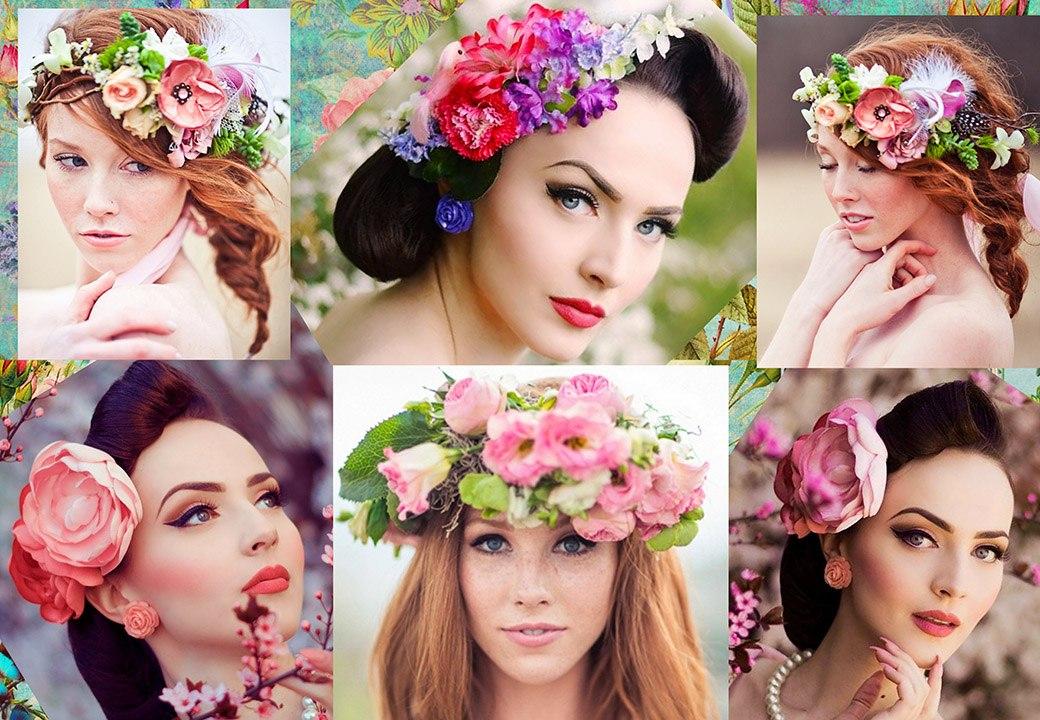 Образ весны для фотосессии