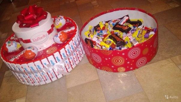 Как сделать сладкий подарок на день рождения своими руками