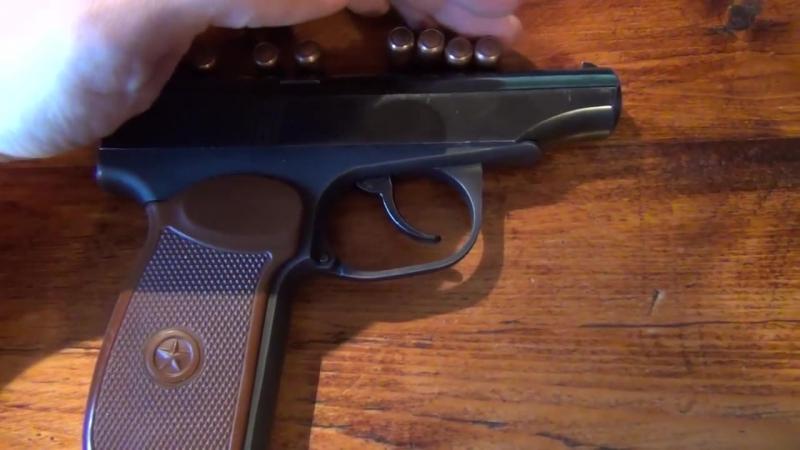 Пистолет ИЖ-79-9Т «Макарыч» Травматика.