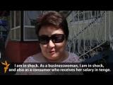 Gazagystan: Teňňäniň gowşamagyna reaksiýa