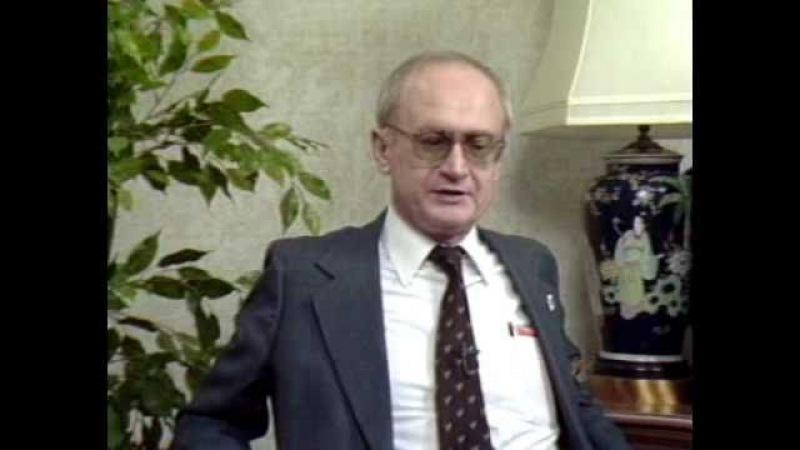 Yuri Bezmenov: Deception Was My Job (Complete)
