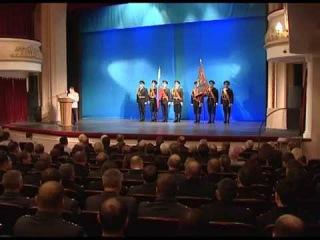 Церемония вручения знамени УМВД России по Брянчкой области