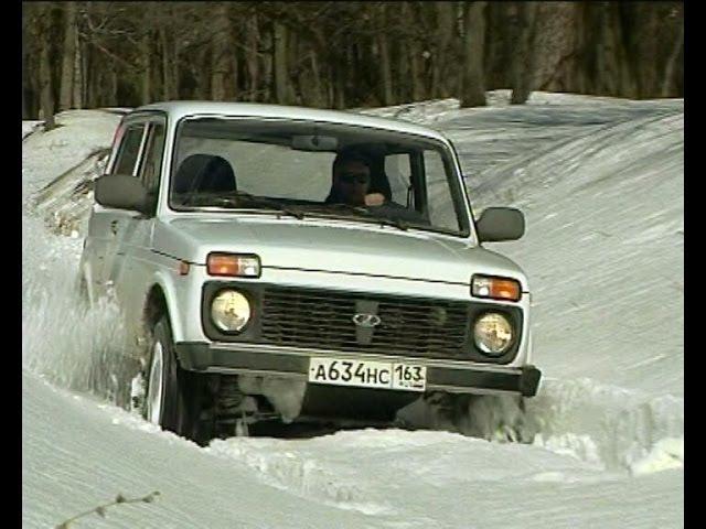 Зимний тест-драйв Нива LADA 4x4 M (NIVA ВАЗ-21214), winter test-drive.