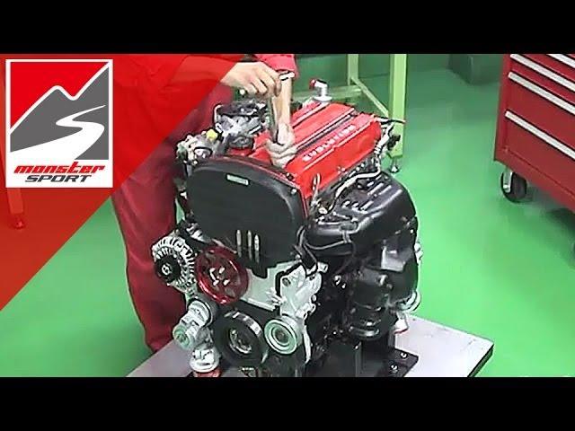 三菱 ランサーエボリューション4G63エンジン モンスタースポーツ コンプリ