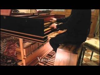 PEDAL harpsichord: Johann Pachelbel - Arietta, performed by Marco Vincenz