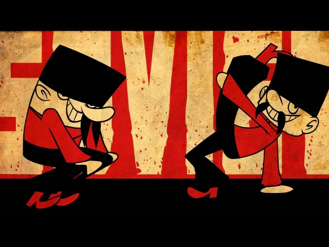 Russian Dancing Men : animated music video : MrWeebl