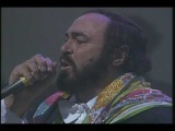 Panis Angelicus (Live). Luciano Pavarotti &amp Sting (HQ)