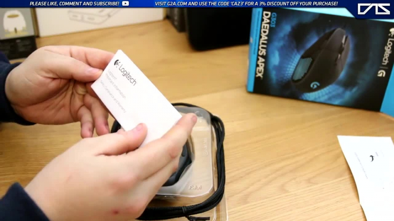 Logitech G303 Daedalus Apex Gaming Mouse Unboxing _ First Look!