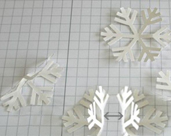 Сладкие Как сделать лёгкие снежинки из бумаги