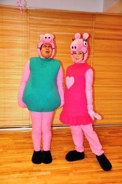 Карнавальный костюм свинка пеппа своими руками 74