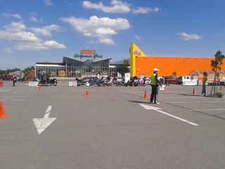 Александр Рысин II этап Чемпионата Санкт-Петербурга по Мото Джимхане 2015