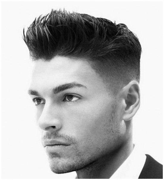 Самые актуальные мужские причёски на короткие волосы. Фото №3