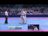 II KWU WC Final w+70kg. Gendik Tatiana (Russia) vs. Brigita Gustaityte (Lithuania)