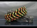 Как сделать браслет Небесное перо из паракорда \ DIY paracord bracelet Heavenly feather