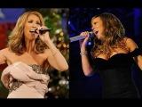Mariah Carey Vs Celine Dion - Battle of Voice (LIVE)