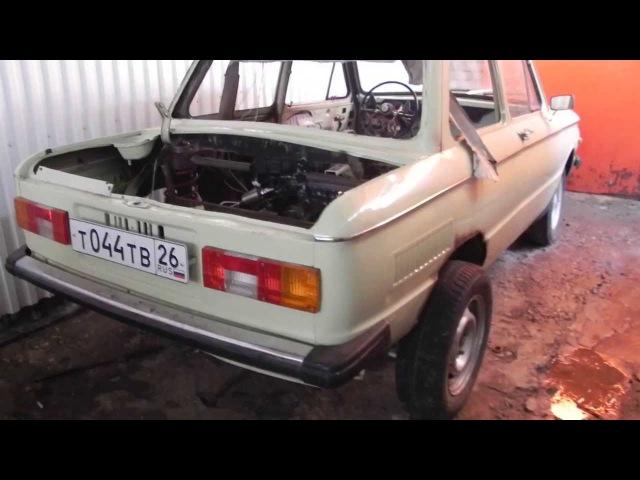 ЗАЗ 968М Запорожец с двигателем ваз 16кл объем 1.9