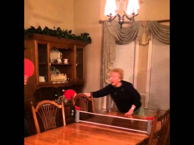 Grandma Loves Ping Pong Too Much