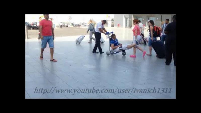 Тагил прилетел в Египет. Drunk Russian Tourists. Besoffene Touristen in Ägypten. Руссо туристо.