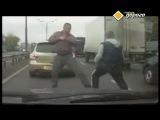 Подборка Отмороженное быдло на дороге !  Road rage russia 2015