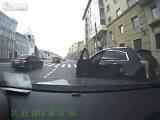 Случай на дороге #Получил по морде,по наглой быдлячей морде!