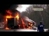 Случай на дороге #ЖУТКИЕ Аварии Грузовиков 2015 4