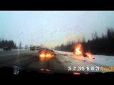 Случай на дороге # Жесткое ДТП Ульяновск !!! 2015