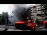 Видеорегистратор 2015 #Взрыв бензовоза в Алматы!!!