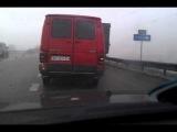 Случай на дороге #Большая авария на клеверном мосту!