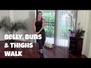 Belly, Buns Thighs Walk - Full 40-Minute Indoor Walking Home Workout