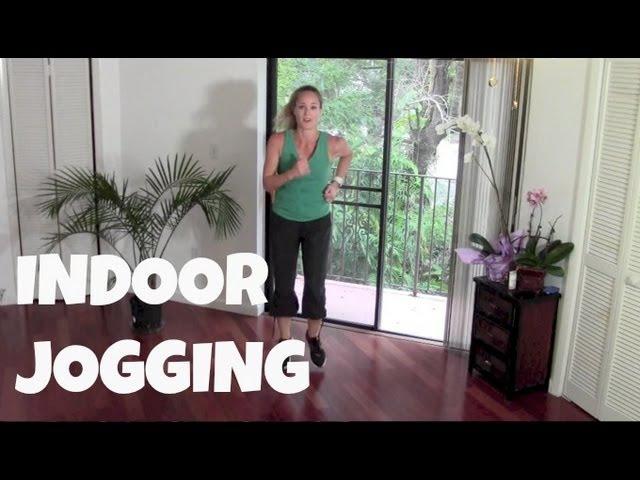 Ходьба - Домашний бег - 40-минутная жиросжигающая, домашняя кардио тренировка. Walking Exercise - Indoor Jogging - Full 40 Minute Fat Burning Cardio Home Workout