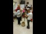 Капустник- так в старину женщины рубили капусту для квашения