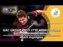 Qatar Open 2015 Highlights: TANG Peng vs GARDOS Robert (Round Of 16)