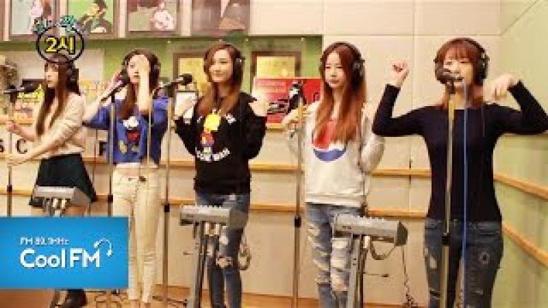 EXID 이엑스아이디 위아래 라이브 LIVE 141006 조정치 동민2시