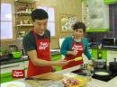 Будет вкусно! 27/12/2013 Хе из щуки, приправа Яннин, салат из сои, ребра-фри. GuberniaTV