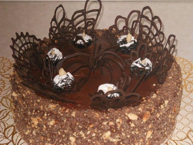 Шоколадный торт с черносливом. РЕЦЕПТ