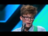 Perfect Ed Sheeran cover from young Archie - The X Factor NZ on TV3 - 2015