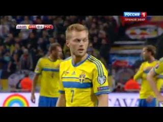 Швеция - Россия 1-1 Сейв Акинфеева с пенальти! ЕВРО 2016