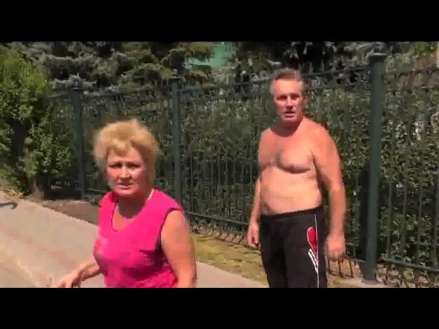 Донецк. Боевики хунты ДНР обстреливают жилые кварталы из миномета. Свидетельство местных жителей