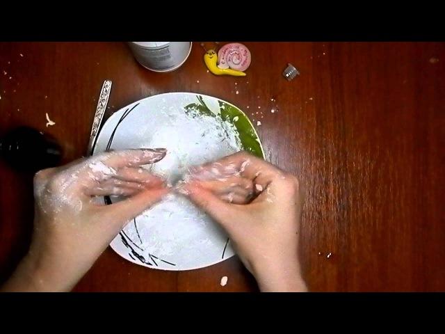 Простой рецепт холодного фарфора без варки » Freewka.com - Смотреть онлайн в хорощем качестве