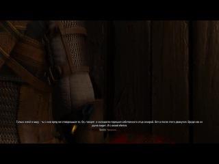 The Witcher 3 - Вроде как он духов видит... И с козой еб*тся... :D