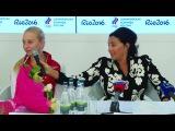Задай вопрос чемпионкам мира по художественной гимнастике! Пресс-конференция