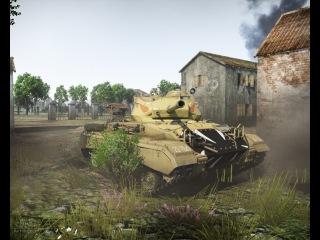 War Thunder танки США : М24 Chaffee приёмы в бою